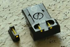 Adjustable Rear Sight Sets with fiber optics for Cz 75 Sp-01 Cz Shadow 2- Yellow
