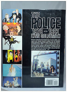 The Police 1978-1983 Hardcover English Book Lynn Goldsmith NEW FREE Postage