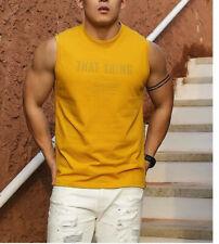 Beemen YIWU Fashion Classic Sleeveless Sports T-Shirt Sexy Men ´ S
