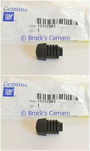 82-92 CAMARO Z28 IROC-Z FIREBIRD GTA TA REAR HATCH GLASS BUMP STOP NEW SET 2