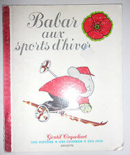 ALBUM GENTIL COQUELICOT / BABAR AUX SPORTS DHIVER / 1976