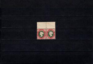 Helgoland, Nr. 15/15 I, postfrisches, waagerechtes Paar mit Fotobefund