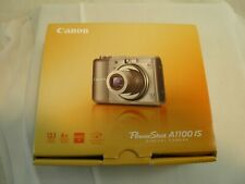 Canon PowerShot A1100 IS Digital Camera for Use or Parts in Original Box