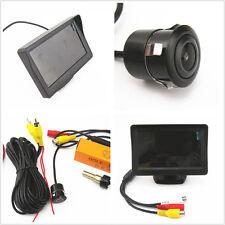 """NTSC 4.3""""LCD Car Display Monitor Screen+18.5mm Backup Reverse Rear View Camera"""