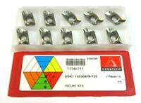 10 Plaquettes pour Fraisage Xd KT 150508FR-F20 CTW4615 de Ceratizit Neuf H28224