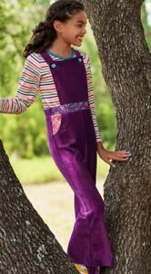 Wildflowers clothing Happy go lucky Purple Groovy Judy Overalls jumpsuit 12 NWT