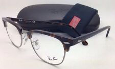 New RAY-BAN CLUBMASTER Rx-able Eyeglasses RB 5154 2012 51-21 Tortoise fdf2cab8535
