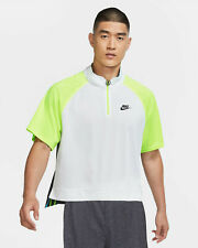 Nike Court Slam Men's 1/2-Zip ALL SIZES!! Tennis Agassi CT0820-100 NWT