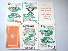 TOP DIVIDEND VINTAGE PLAYING CARDS GAME WITH 54 CARDS 80 COUNTERS RULES BOX 1935