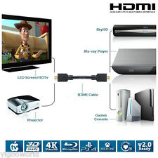 10FT HDMI CABLE For BLURAY 3D DVD PS3 HDTV XBOX LCD HD TV 1080P PREMIUM V1.4 US
