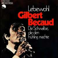 "Gilbert Becaud* - Lebewohl (7"", Single) Vinyl Schallplatte 21715"