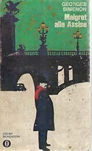 Libro - Maigret alle assise Mondadori oscar 243 - Georges Simenon