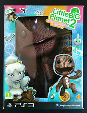 LITTLE BIG PLANET 2 COLLECTOR'S EDITION + SACKBOY PS3 SONY PLAYSTATION 3 NUOVO