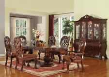 Formal Classic Style Traditional Dining Room Table 2xArm & 4xSide Chairs Set 7pc