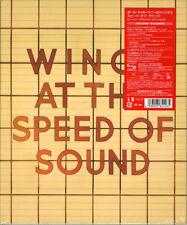 PAUL MCCARTNEY & WINGS-WINGS AT THE SPEED OF SOUND-JAPAN 2SHM-CD+DVD Ltd/Ed AJ75