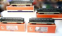 Lionel Trains North Coast Limited-Northern Pacific-4 Car Aluminum Passenger Set!