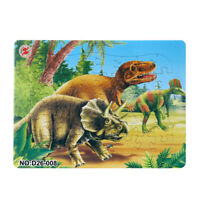 Jurassic Park Dinosaurs Paper jigsaw puzzles toys for children kids educational