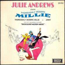 BO FILM MILLIE JULIE ANDREWS JAZZ BABY / CAROL CHANNING 45T EP 1967 DECCA 50.003