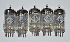 5 vintage TeleFunKen by Siemens 12ax7/ECC83 Audio Tubes W. Germany