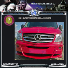 MERCEDES SPRINTER CHROME GRILLE COVERS HIGH QUALITY 3y GUARANTEE 2014-2018 OFFER