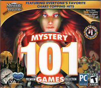 MYSTERY 101 PREMIUM GAMES COLLECTION Hidden Object PC Game DVD-ROM NEW