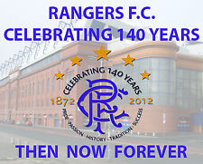 RANGERS F.C. Celebrating 140 Years.   Then, Now, Forever    LOYALIST/ RANGERS/CD