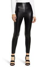 COMMANDO Control Faux Leather Stretch Leggings  Sz M   Blk  $108
