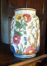 """H J WOODS BURSLEM ENGLAND - Vintage Hand painted vase  """"  Indian tree """""""