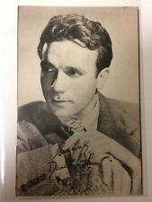 POSTCARD - DANE CLARK film movie star actor  40s vintage Warner Bros