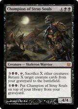 CHAMPION OF STRAY SOULS Born of the Gods MTG Black Creature — Skeleton Warrior