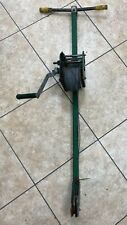 Greenlee Cable Puller 766 M5 2 Speed Hand Crank Winch Wire Puller