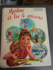 MARTINE et les 4 SAISONS - Collection FARANDOLE Casterman 1962
