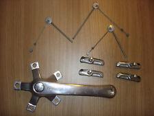 Shimano Deore LX Retro Kurbel / Bremsbelege / Verbindungskabel Cantilever Bremse