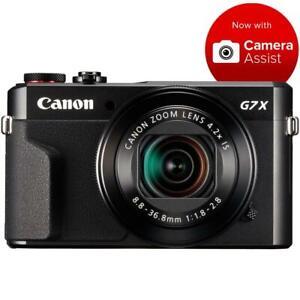 Canon PowerShot G7X Mark II Digital Camera Black (Refurbished by Canon Aust.)