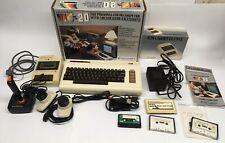 Commodore VIC-20 Home Computer System, Games, Datasette, Joystick, Paddles