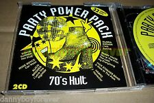 Party Power Pack 70s Seventies Cult NM 2 CD Donna Summer Rupert Holmes Harpo etc