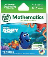 NEW LeapFrog DISNEY FINDING DORY MATHEMATICS Learning Game for LeapPad Tablets