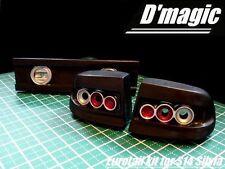 D'Magic 1/10 RC Car REAR LIGHT BUCKETS For NISSAN Yuroteru S14   -Painted-