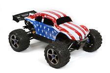 Custom Buggy Body American Flag for Traxxas E-Revo 1/10 Truck Car Shell 1:10