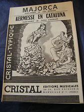 Partition Majorca Kermesse en Cataluna Murato Castillos Music Sheet