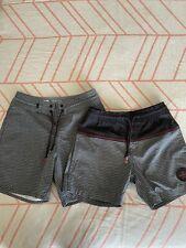 Boys Quiksilver Boardshorts X2 Size 8