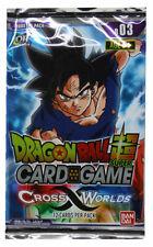 Dragon Ball - Cross Worlds 1 Booster - Englisch