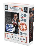 2020 Panini Encased FOTL NFL Football Factory Sealed Hobby Box Ready to Ship 🔥