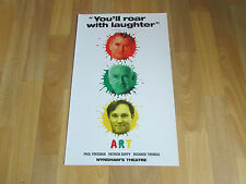 ART inc Paul FREEMAN Patrick DUFFY & Richard THOMAS Wyndham's Theatre Poster