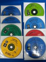 Lot Of 8 Playstation 1 Educational Use Only Discs