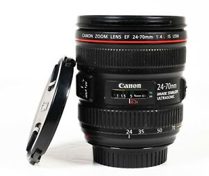 Canon EF 24-70mm F4 L IS USM Macro Autofocus Zoom Lens