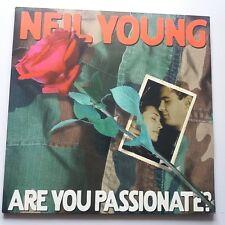 Neil Young - Are You Passionate? 2x Vinyl LP Vapor European 1st Press 2002 NM/NM
