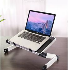 Foldable adjustable Aluminium laptop stand riser for notebook,ipad,tablet.book