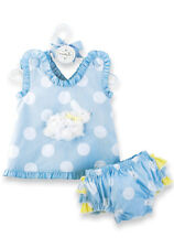Baby BUNNY PINAFORE AND BLOOMER SET 176000-18 Cottontail Collection