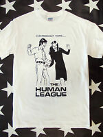 The Human League t-shirt screen printed Fast Records electronic PUNK Heaven 17